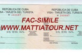 Visti Cuba on line targhette turistiche Cuba