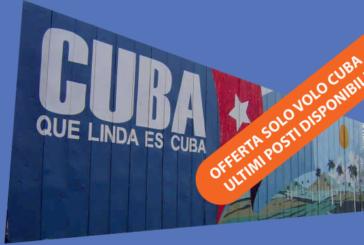 Offerte solo volo Natale a Cuba dicembre 2017. Ultimi posti!