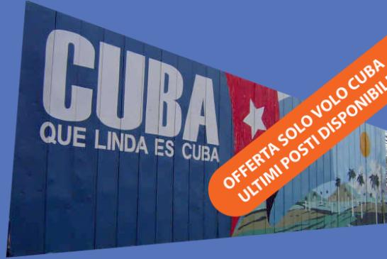 Super Maggio Cuba Milano Havana a € 290!