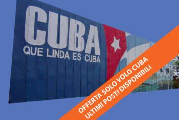 Offerte solo ritorno da Cuba