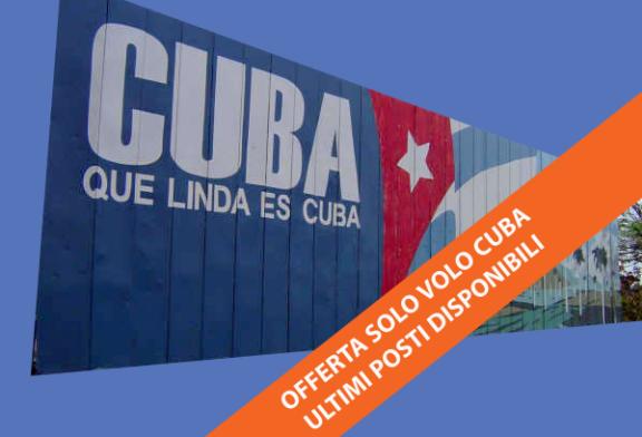 Cuba Offerte voli da € 269 carnevale ogni prezzo vale!!!!