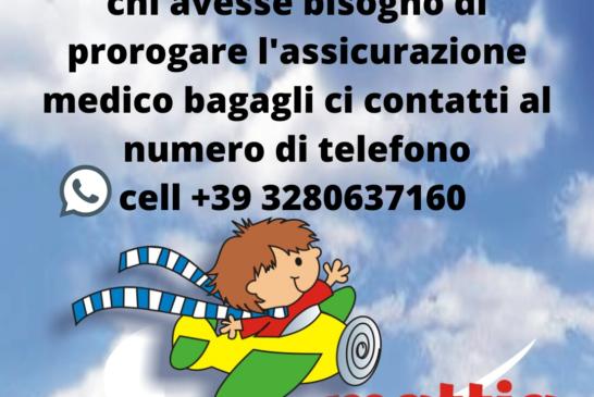 Proroga assicurazione viaggi