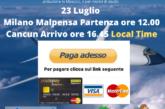 Milano Cancun clicca paga adesso