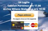 Cancun Milano clicca paga adesso
