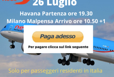 Havana Milano Malpensa clicca paga adesso