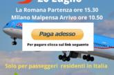 La Romana Milano Malpensa clicca paga adesso