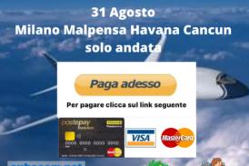 Milano Havana Cancun 31/08
