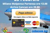 Volo Milano – Cancun Del 23/02/21 A 500 €