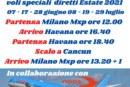 Operativi Voli Messico Cancun Cuba Havana