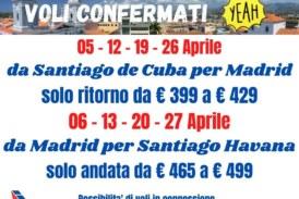 Voli Santiago De Cuba da e per Madrid